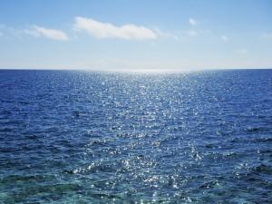 Postal: El mar