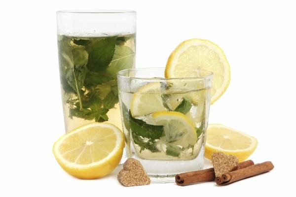 Azucarillos con forma de corazón para el té verde