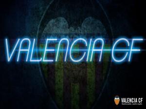 Postal: Valencia CF en láser