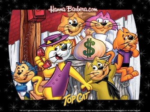Postal: Don Gato y su pandilla