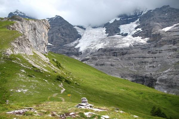 Vista de la Estación de Eigergletscher (Suiza)