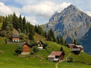 Postal: Cantón de Uri, Suiza