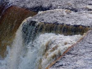 Postal: Aysgarth Falls, en Yorkshire