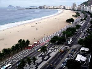 Postal: Copacabana, Río de Janeiro, Brasil