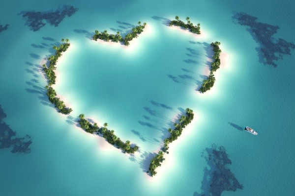 Islas corazón