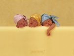 Colección Anne Geddes: Tres caritas