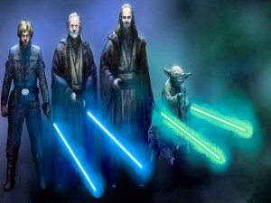 Dibujos de personajes de Star Wars