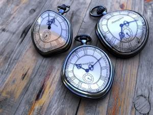 Postal: Tres relojes blandos