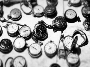 Postal: Relojes antiguos