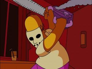 Homer psicópata