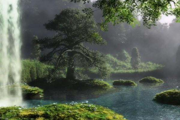 Cascada mística