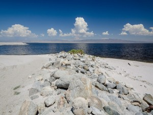 Postal: Rocas en la costa