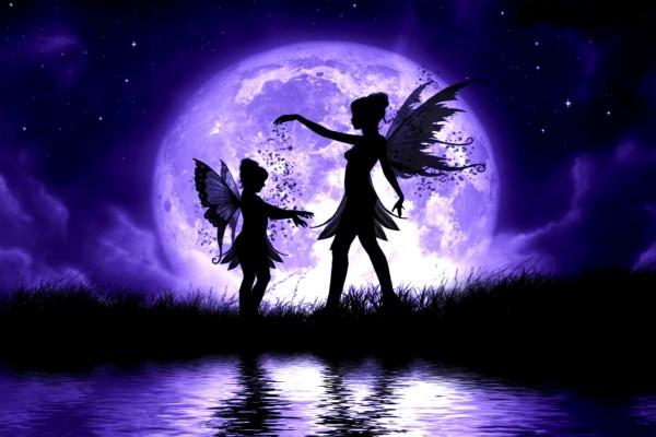 Resultado de imagen para luna morada