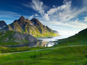 Postal: Montaña nórdica