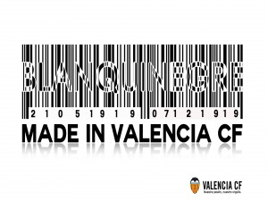 Made in Valencia CF blanquinegre