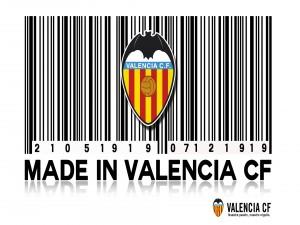 Valencia CF, código de barras
