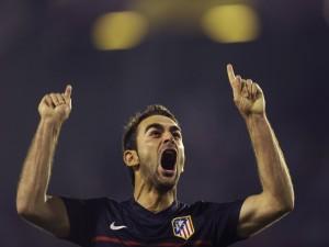Adrián, jugador del Atlético de Madrid