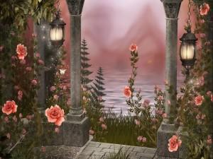 Pabellón de rosas