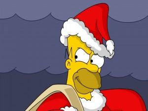 Postal: Homer Santa
