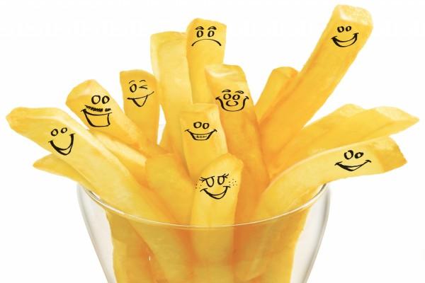 Patatas contentas