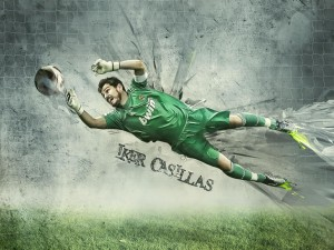 Iker Casillas 2D