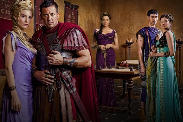 """Personajes de la serie """"Spartacus"""""""