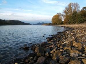 Río Rin en Unkel