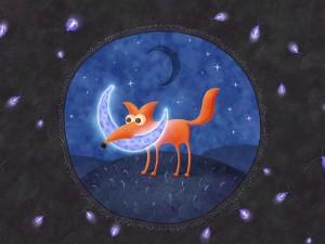 El zorro y la luna