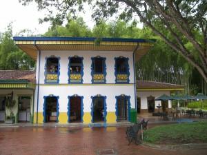 Postal: Parque del café, Colombia