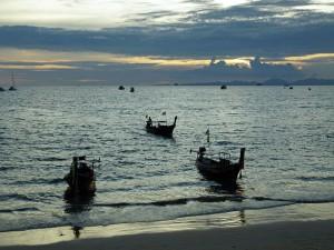 Playa en Ao Nang (Tailandia)