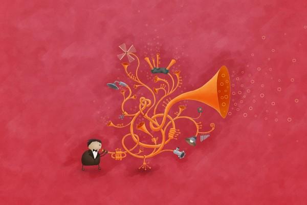 El saxofón mágico