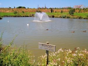 Parque de la Paz, en Almada