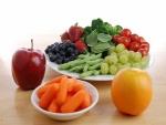 Colores de frutas y verduras