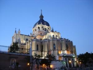 Catedral de la Almudena, en Madrid (España)