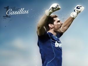 Postal: Iker Casillas número uno