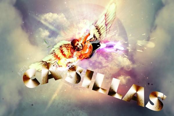 Iker Casillas volando como un ángel