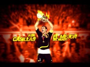 Iker Casillas, el mejor del mundo
