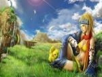 Un paisaje de Final Fantasy