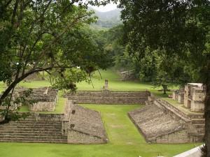Postal: Copán (sitio arqueológico), Honduras