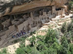 Postal: Parque Nacional Mesa Verde, Estados Unidos