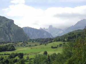 Postal: Paisaje asturiano