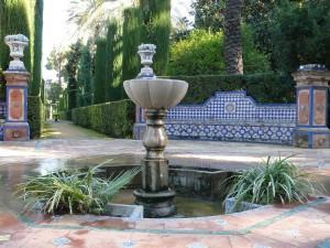 Postal: El arte mudéjar civil, en el Real Alcázar de Sevilla