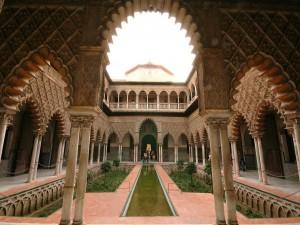 Patio de las doncellas (Reales Alcázares de Sevilla)