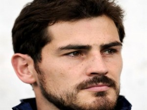 Postal: El futbolista Iker Casillas