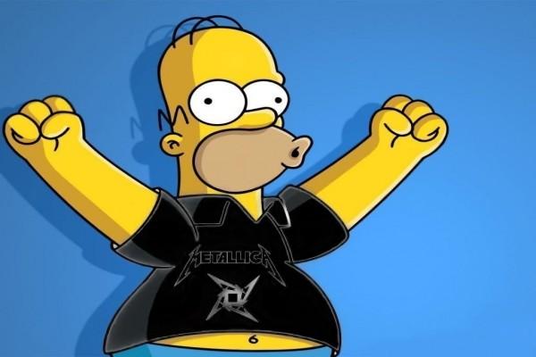 Homer Metallica