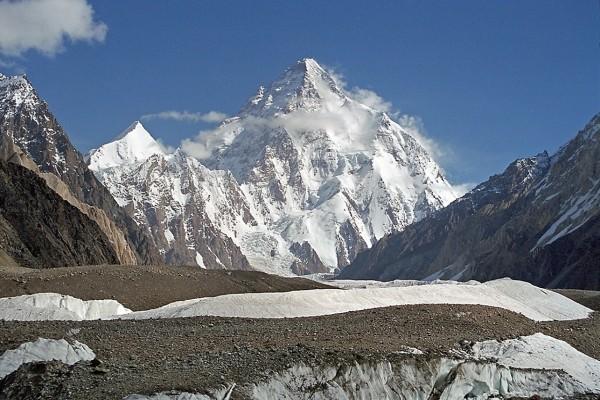 K2 (Baltoro Muztag, Karakoram, Pakistán)