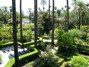 Jardines de los Reales Alcázares de Sevilla