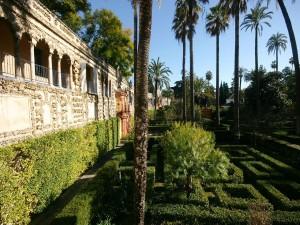 Postal: Galería de los Grutescos (Alcázar de Sevilla)