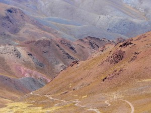 Postal: Abra del Acay , Provincia de Salta (Argentina)