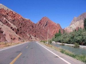 Postal: La carretera del Karakórum en Xinjiang